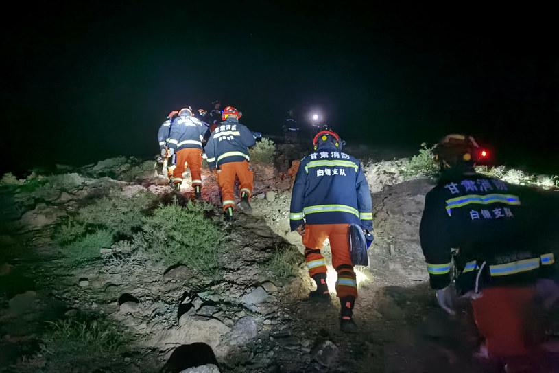 Akcja ratunkowa podczas ultramaratonu w Chinach /Xinhua/Xinhua News /East News