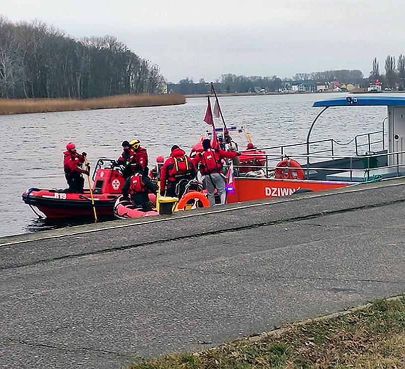 Akcja ratunkowa w Dziwnowie /ikamien.pl /