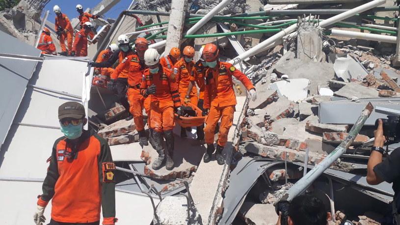 Akcja ratunkowa w Indonezji /BASARNAS HANDOUT /PAP/EPA