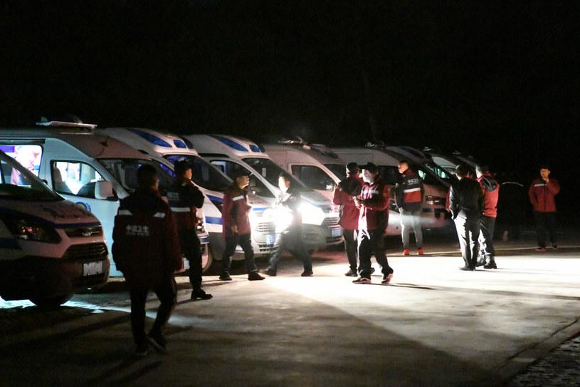 Akcja ratunkowa w północno-zachodnich Chinach /Fan Peishen/Xinhua News /East News