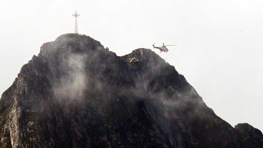 Akcja ratunkowa w Tatrach / Grzegorz Momot    /PAP