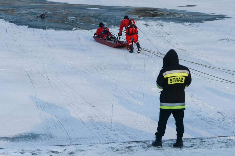Akcja ratunkowa, zdjęcie ilustracyjna /Fot. Grzegorz Lyko / ArtService  /Agencja FORUM