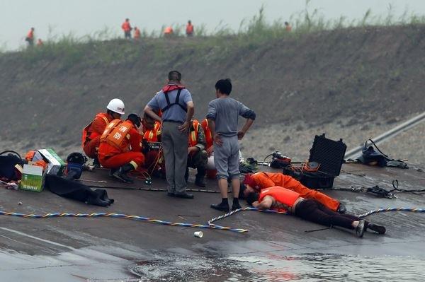 Akcja ratunkowa /AFP