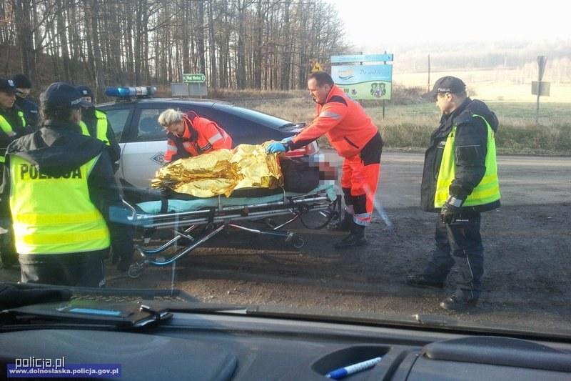 Akcja ratunkowa /Policja
