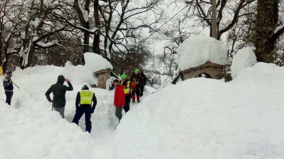 Akcja ratunkowa /SOCCORSO ALPINO HANDOUT /PAP/EPA