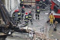 Akcja ratunkowo-poszukiwawcza w Katowicach