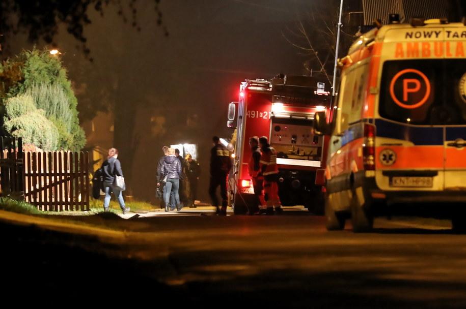 Akcja saperów na miejscu tragedii /Grzegorz Mamot /PAP