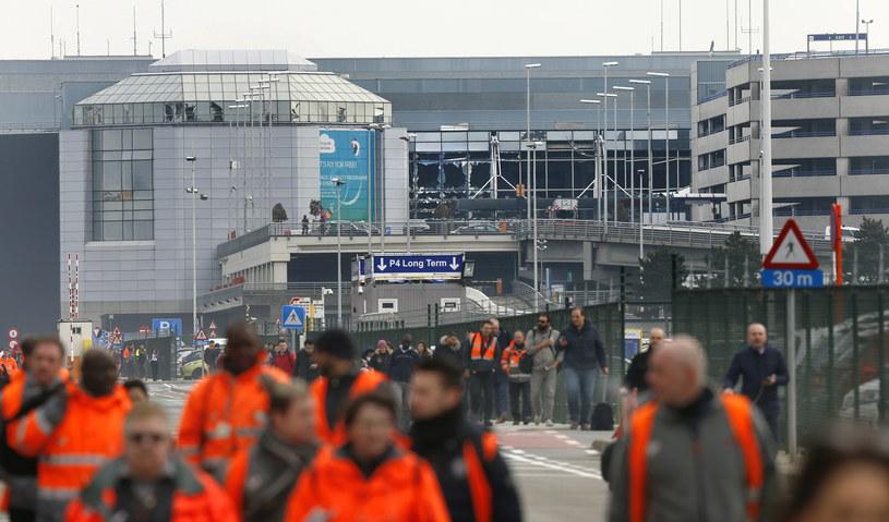 Akcja służb po ataku w Brukseli /Agencja FORUM