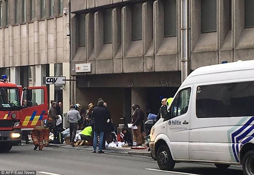 Akcja służb po wybuchu w metrze /MARIJA IVONINAITE /East News