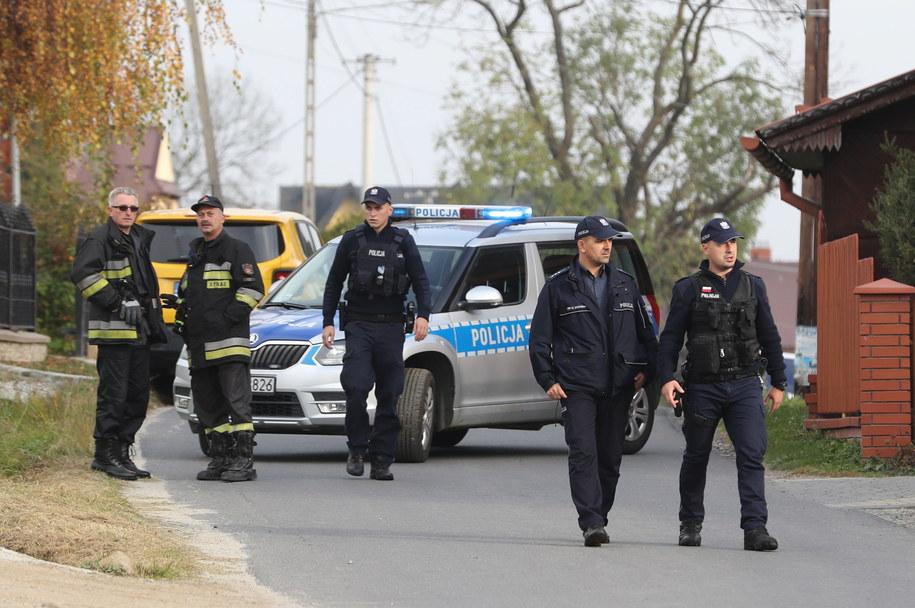 Akcja służb w Bańskiej Niżnej /Grzegorz Mamot /PAP