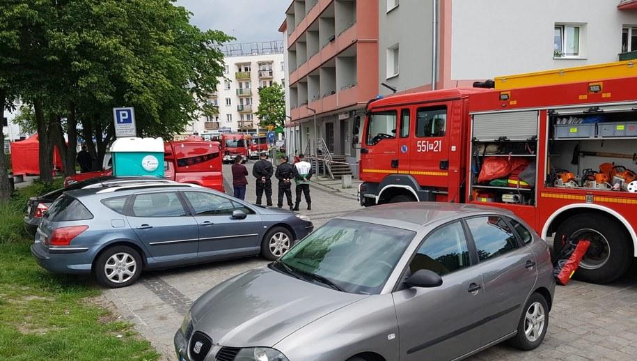 Akcja służb w Pile /KPP Piła /Policja