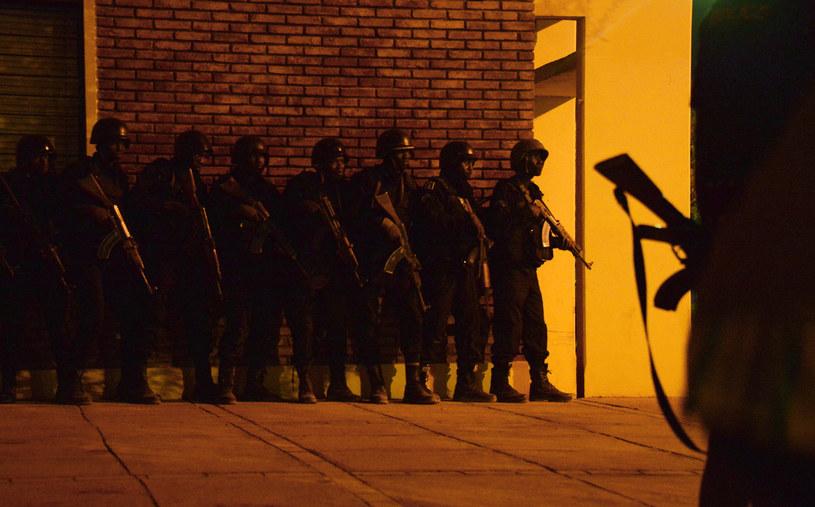 Akcja służb /AFP