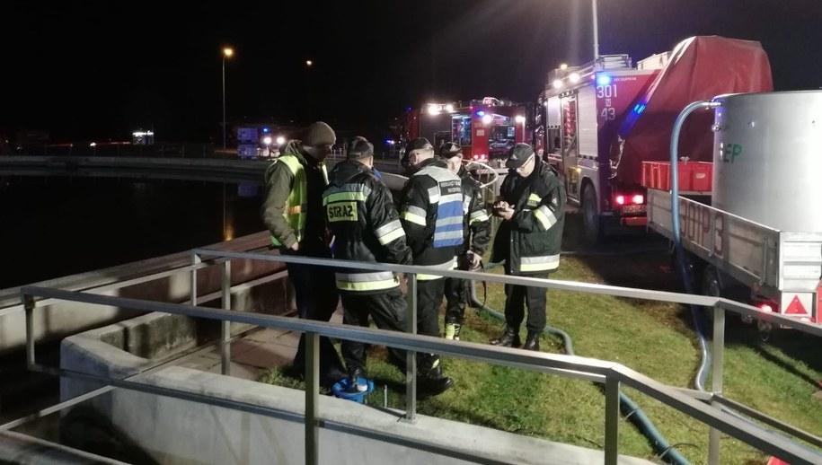 Akcja strażaków w Olsztynie /Piotr Bułakowski /RMF FM