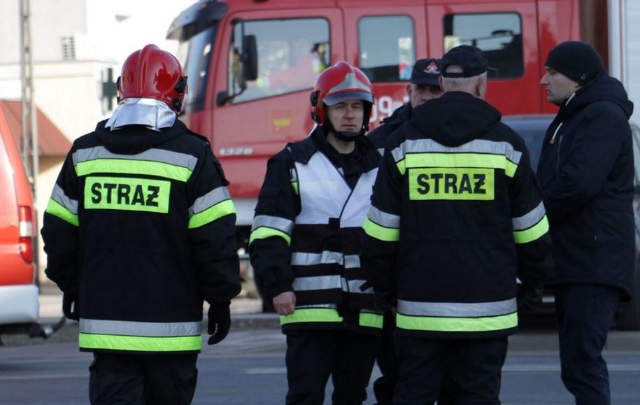 Akcja strażaków w szkole w Katowicach. Zdjęcie ilustracyjne /Michał Dukaczewski /RMF FM