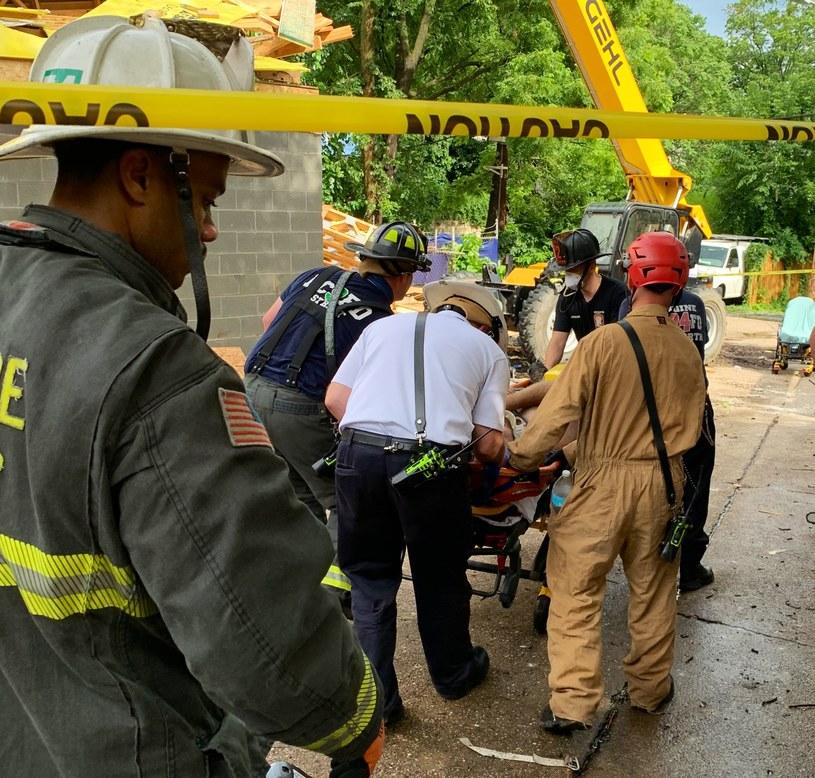 Akcja strażaków w Waszyngtonie /Twitter/ DC Fire and EMS /Archiwum