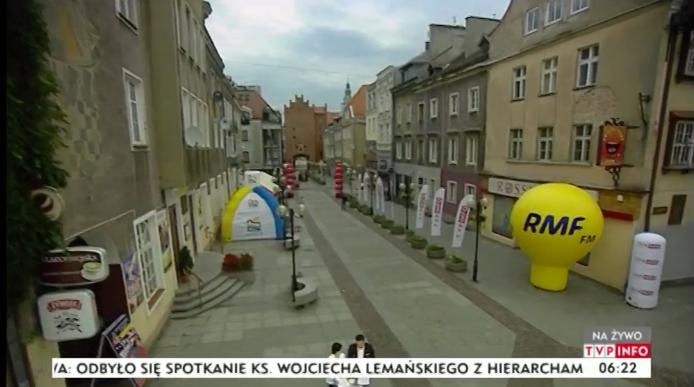 Akcja Twoje Miasto gości dziś w Olsztynie /RMF FM /RMF FM
