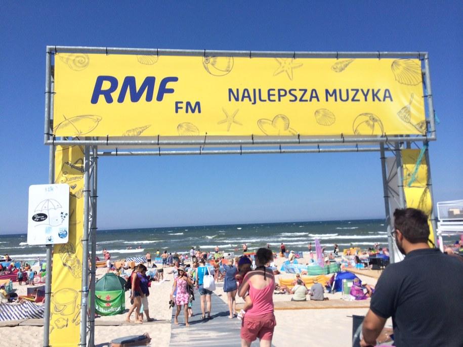 Akcja Twoje Miasto w RMF FM i TVP Info gości dziś w Ustce! /Piotr Bułakowski /RMF FM