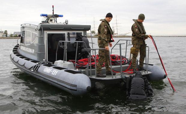 Akcja w Gdyni. Doszło do przedwczesnej detonacji miny morskiej