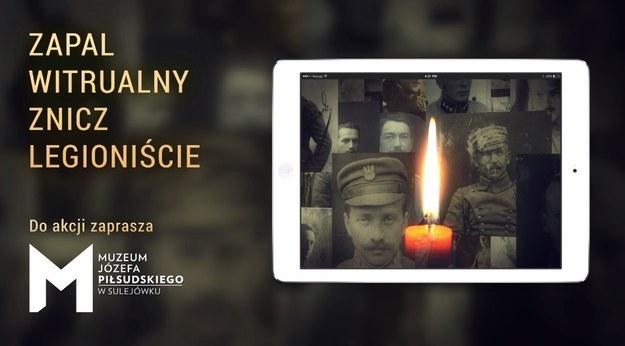 """Akcja """"Zapal Znicz Legioniście"""" /muzeumpilsudski.pl /"""
