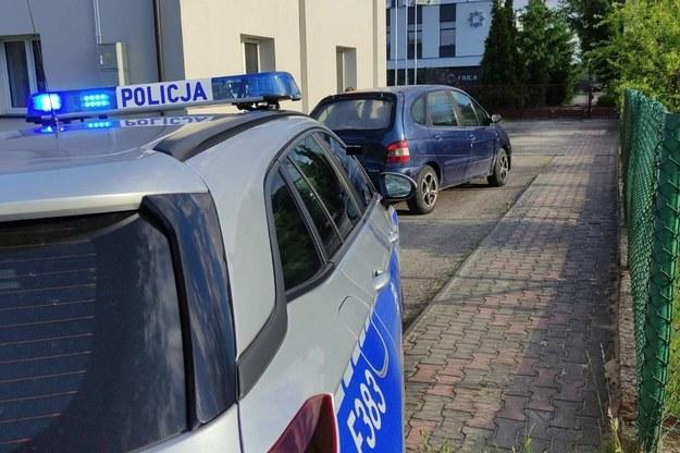 Akcja zatrzymania pijanego kierowcy /Policja