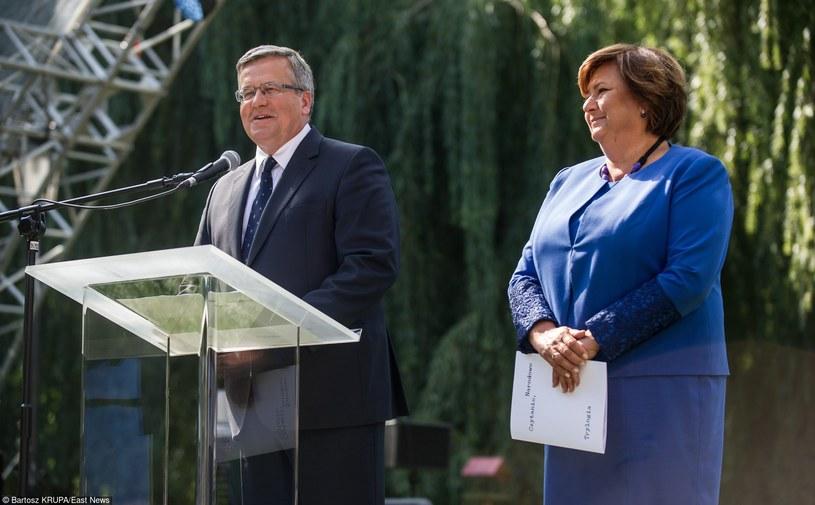 Akcję Narodowego Czytania zainaugurował prezydent Bronisław Komorowski /Bartosz Krupa /East News