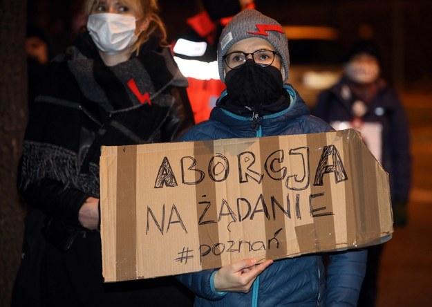Akcje protestacyjne odbywają się od 22 października w wielu polskich miastach / Grzegorz Momot    /PAP
