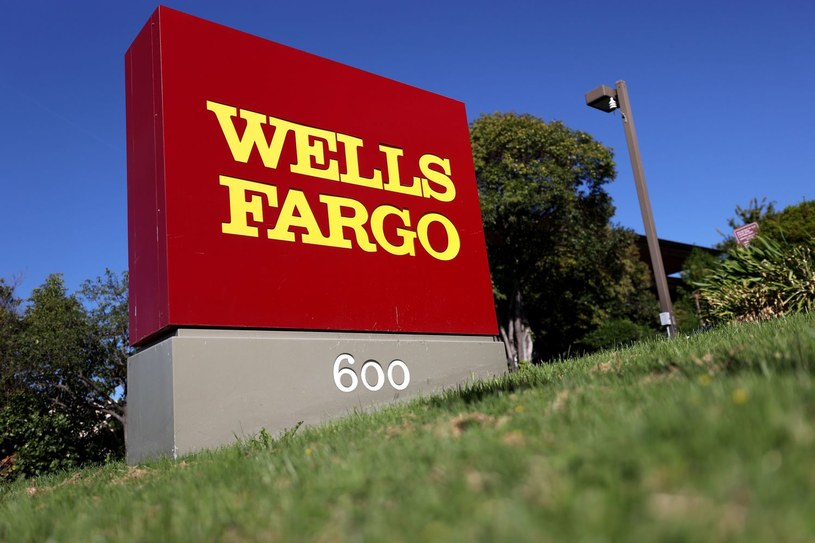 Akcje Wells Fargo idą w dół o 0,3 procent. Nz. siedziba w San Rafael w Kalifornii /AFP