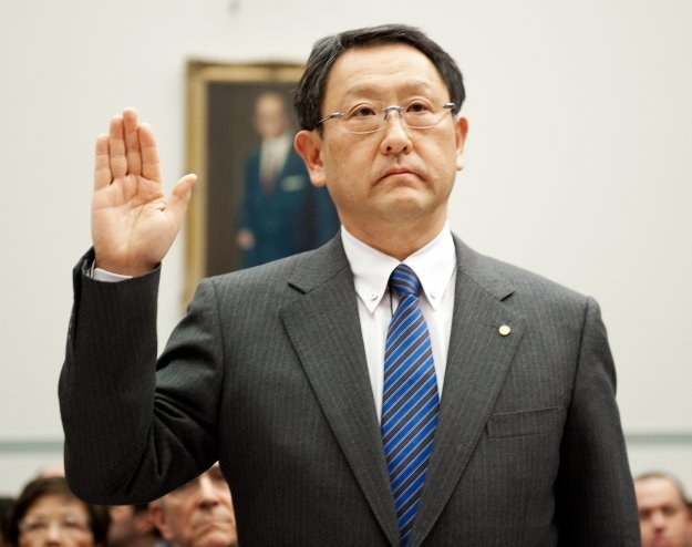 Akio Toyoda, prezes Toyoty /AFP