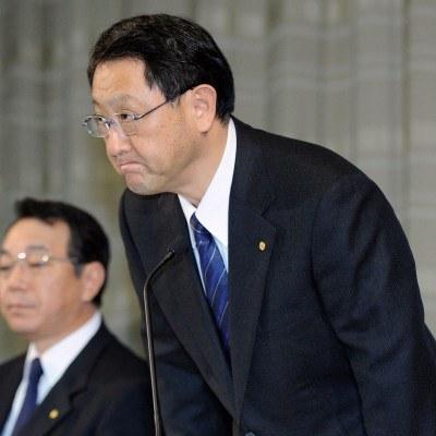 Akio Toyoda /AFP