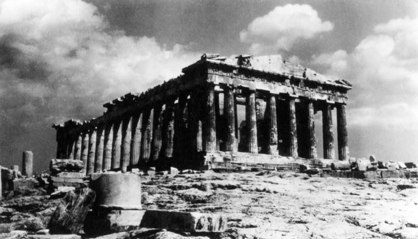 Akropol w czasie II wojny światowej /East News