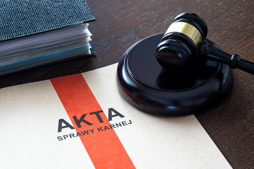 Akta sprawy karnej /ARKADIUSZ ZIOLEK/East News /East News