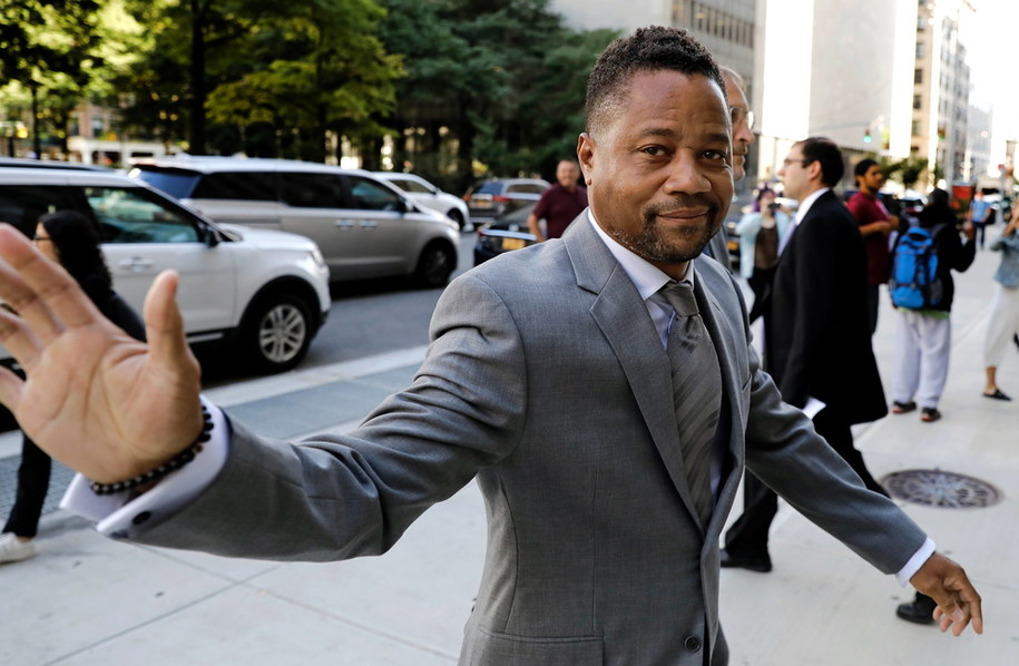 Aktor Cuba Gooding Jr. /Peter Foley /PAP/EPA