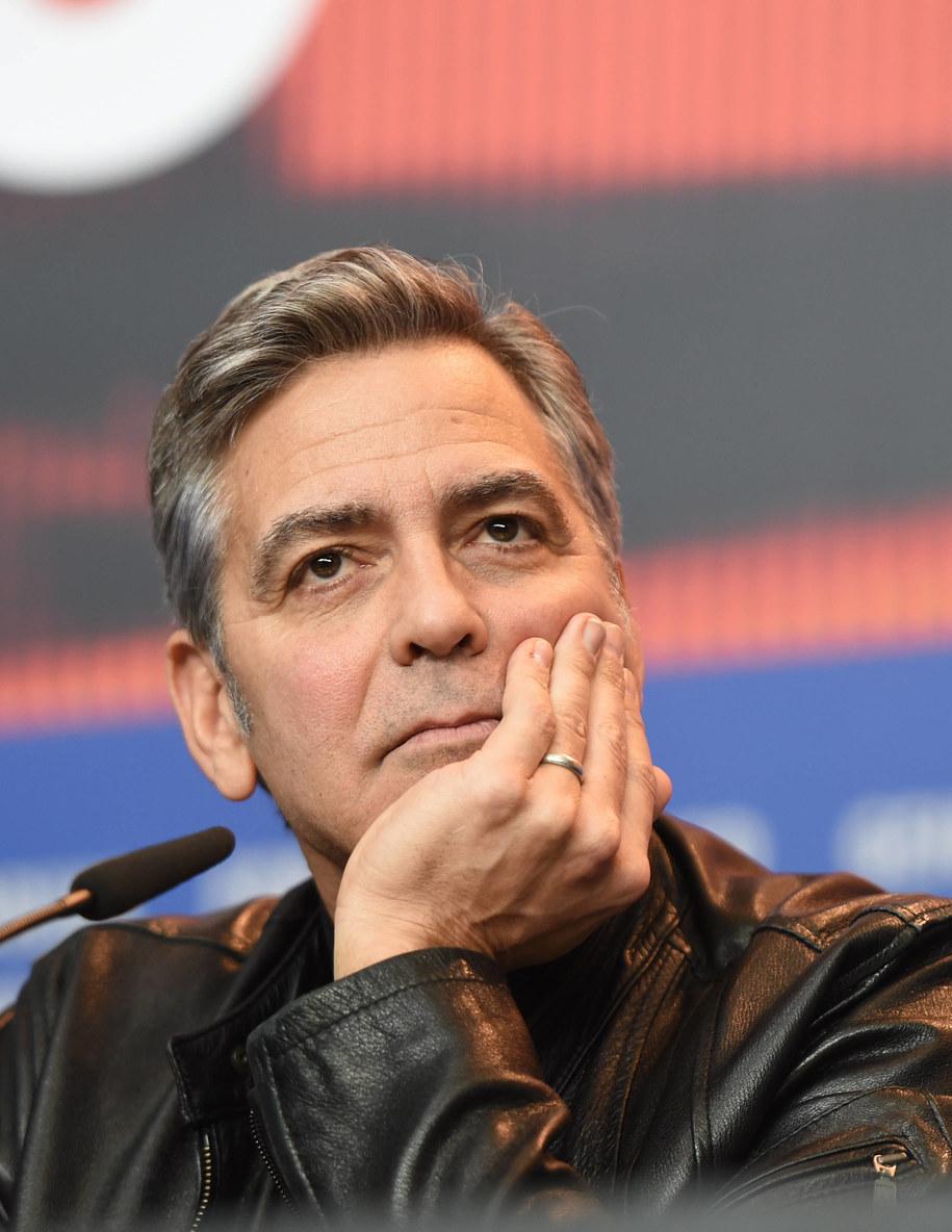 Aktor George Clooney /JENS KALAENE (DPA) /PAP