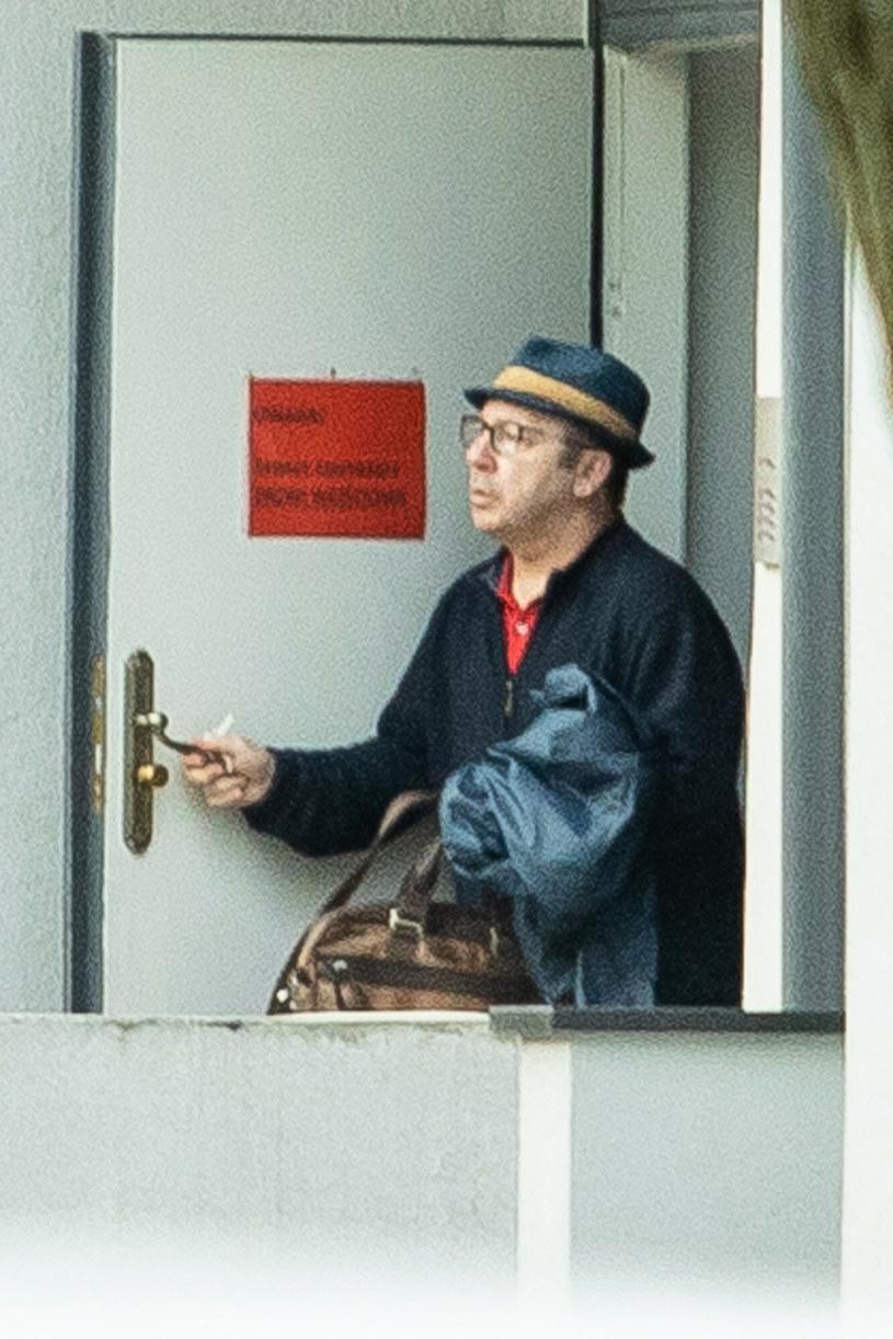 Aktor od dwóch miesięcy oficjalnie nie jest już związany z żoną /Czesiek Powaga/AGENCJA SE/East News /East News