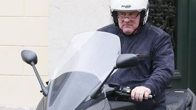 Aktor stracił jedynie francuskie prawo jazdy, więc wyrok nie zrobił na nim specjalnego wrażenia /AFP
