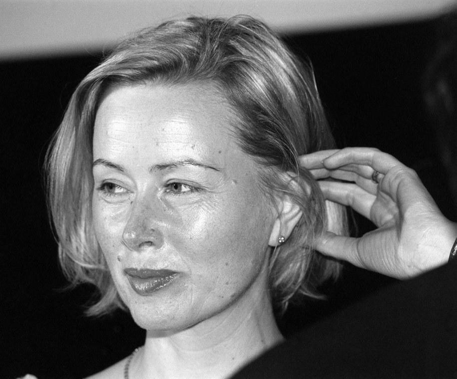 Aktorka Hanna Dunowska / Andrzej Rybczyński    /PAP