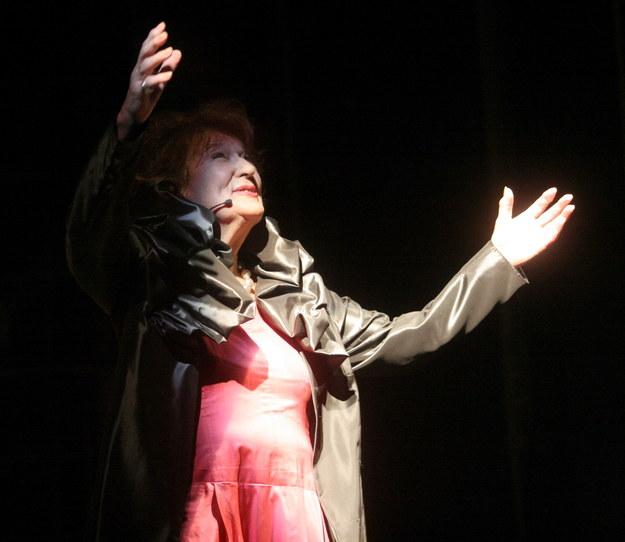 Aktorka i reżyser Marta Stebnicka, odtwórczyni kilkudziesięciu ról w krakowskim Starym Teatrze, zmarła 6 lipca 2020 roku w wieku 95 lat /Jacek Bednarczyk   /PAP