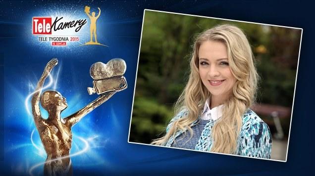"""Aktorka jest nominowana w plebiscycie Telekamery """"Tele Tygodnia"""". /www.mjakmilosc.tvp.pl/"""