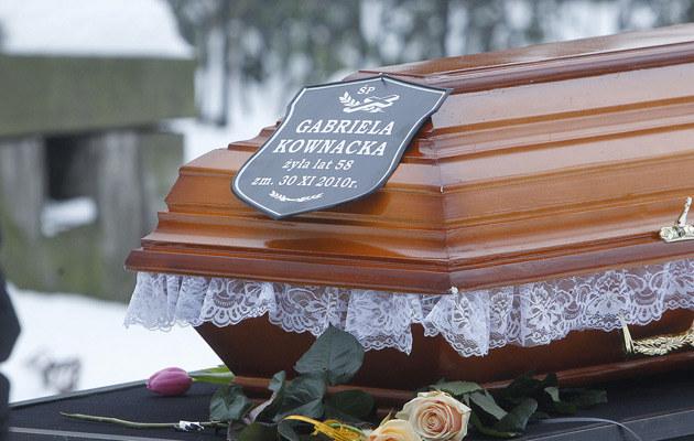 Aktorka pochowana została 7 grudnia na cmentarzu ewangelicko-augsburskim w Warszawie  /AKPA