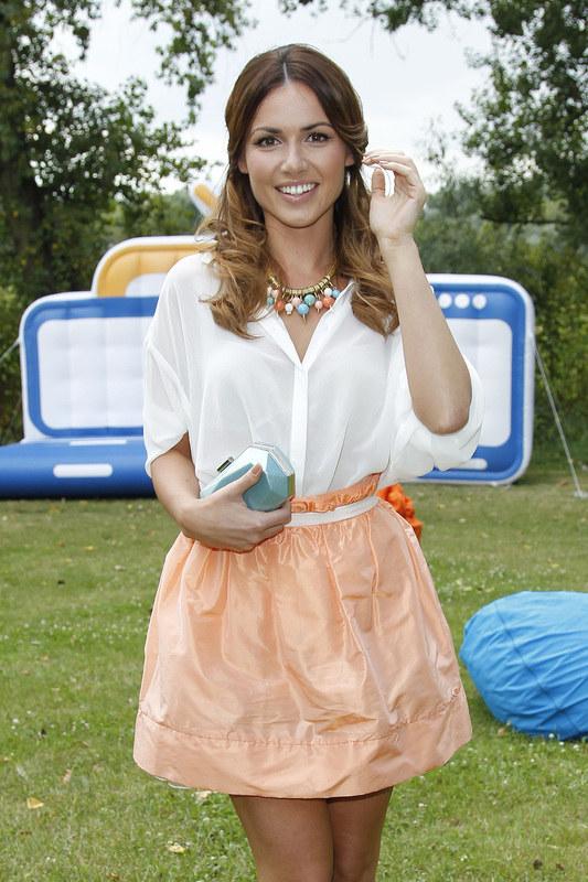Aktorka podczas prezentacji jesiennej ramówki stacji TVN /Engelbrecht /AKPA