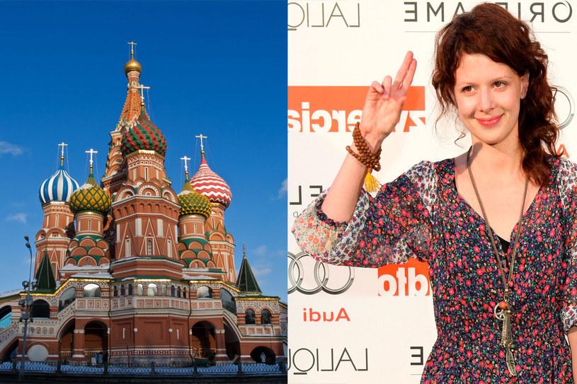 Aktorka przyznała, że uwielbia jeździć do Rosji, jednak nie wyobraża sobie życia na stałe w tym kraju /Agencja FORUM