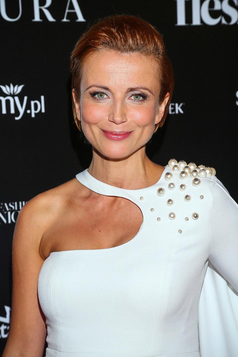 Aktorka w 2013 roku poślubiła Wojciecha Domańskiego /Kamil Piklikiewicz /East News