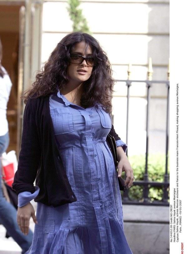 Aktorka w ciąży przytyła aż 22 kg! /- /East News
