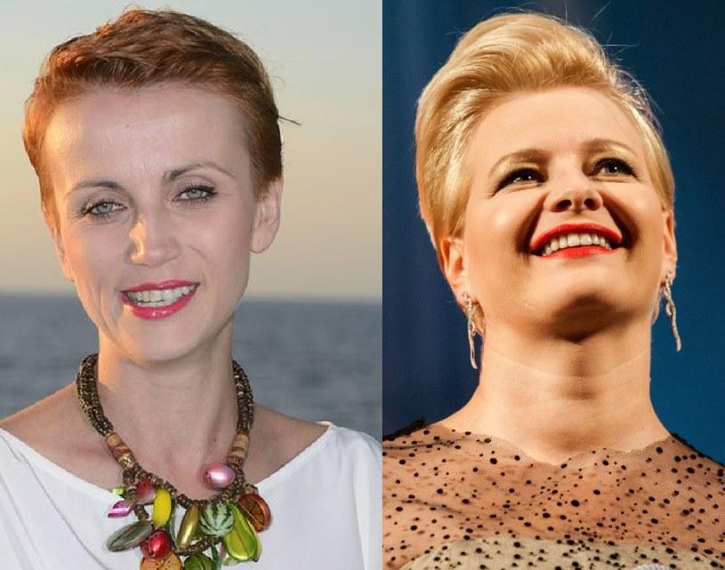 """Aktorka z """"Barw szczęścia"""" i Małgorzata Kożuchowska /- /MWMedia"""