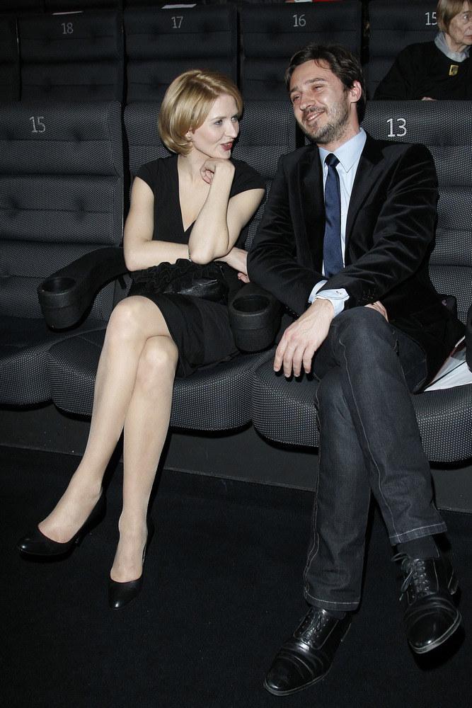 Aktorka z mężem, Adrianem Ochalikiem  /Andrzej Engelbrecht /AKPA