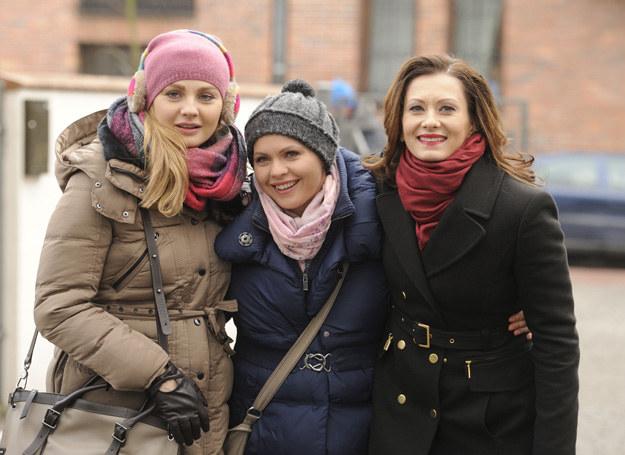Aktorki nie tylko w serialu, ale w prawdziwym życiu są przyjaciółkami /Paweł Wrzecion /MWMedia