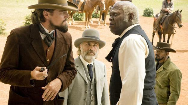 """Aktorstwo w """"Django"""": Samuel L. Jackson przyćmił Leonardo DiCaprio, a Christoph Waltz Jamiego Foxxa /materiały dystrybutora"""