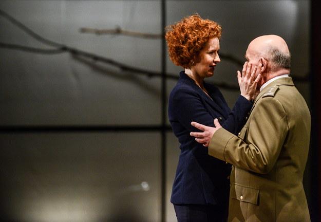 Aktorzy Anna Gajewska (L) i Adam Ferency (P) /PAP