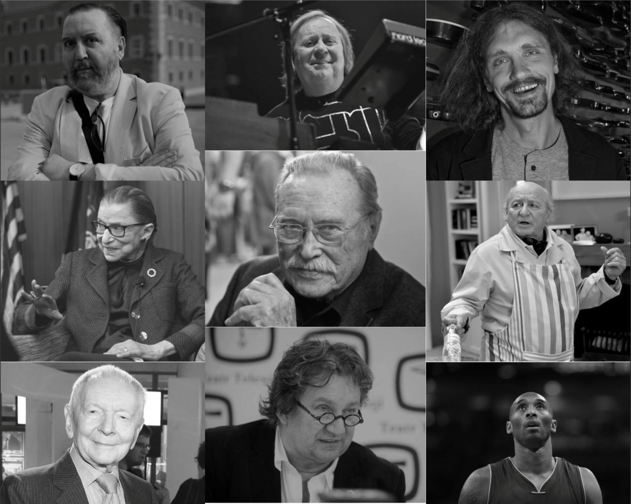 Aktorzy, muzycy, sportowcy. Wspominamy tych, którzy odeszli w ciągu minionego roku