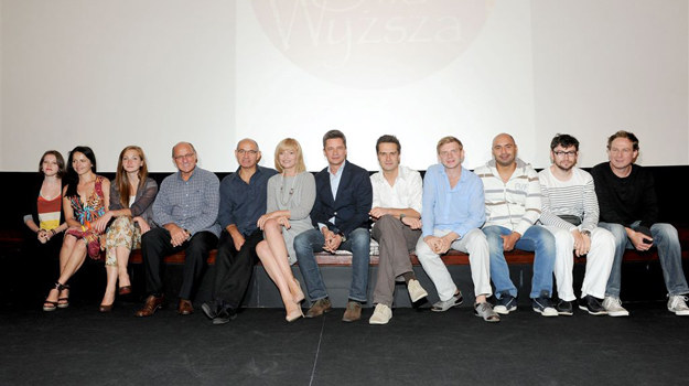 """Aktorzy """"Siły wyższej"""" na konferencji prasowej /  /Agencja W. Impact"""